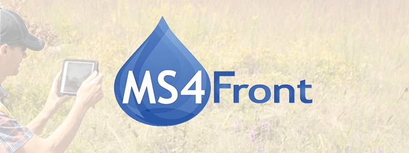 MS4Front logo banner