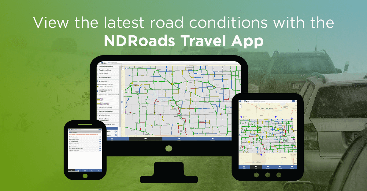 ND Roads Travel Application