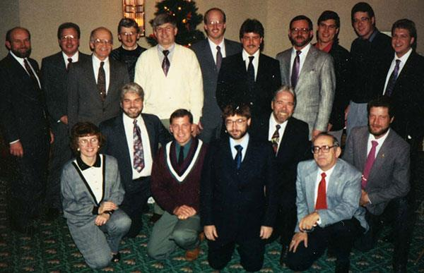 HEI employee photo from 1992