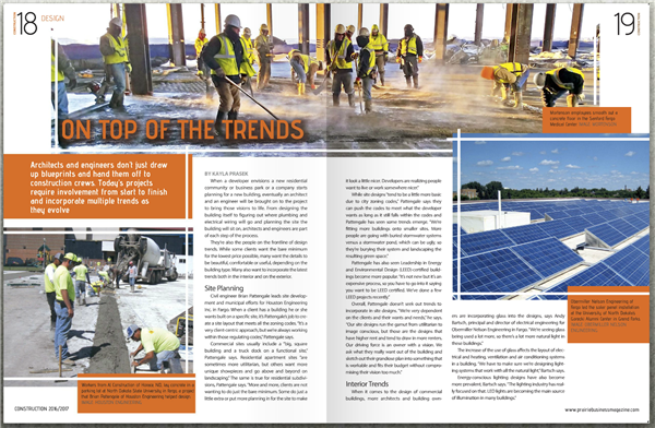 On Top of the Trends Prairie Business Magazine
