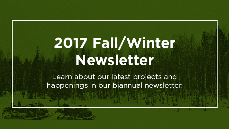 2017 Fall-Winter Newsletter