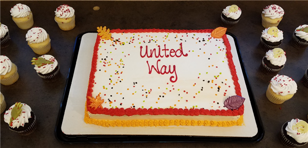 United Way Campaign Cake