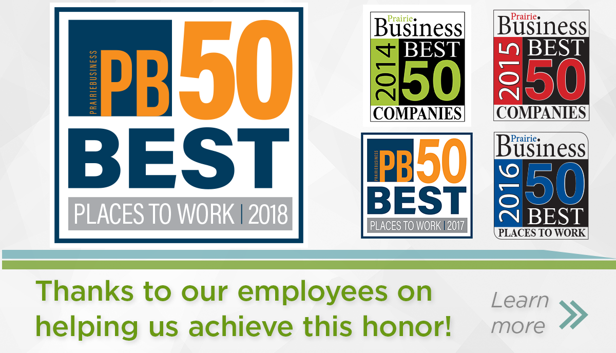 50 Best Places to Work For the Fifth Time!