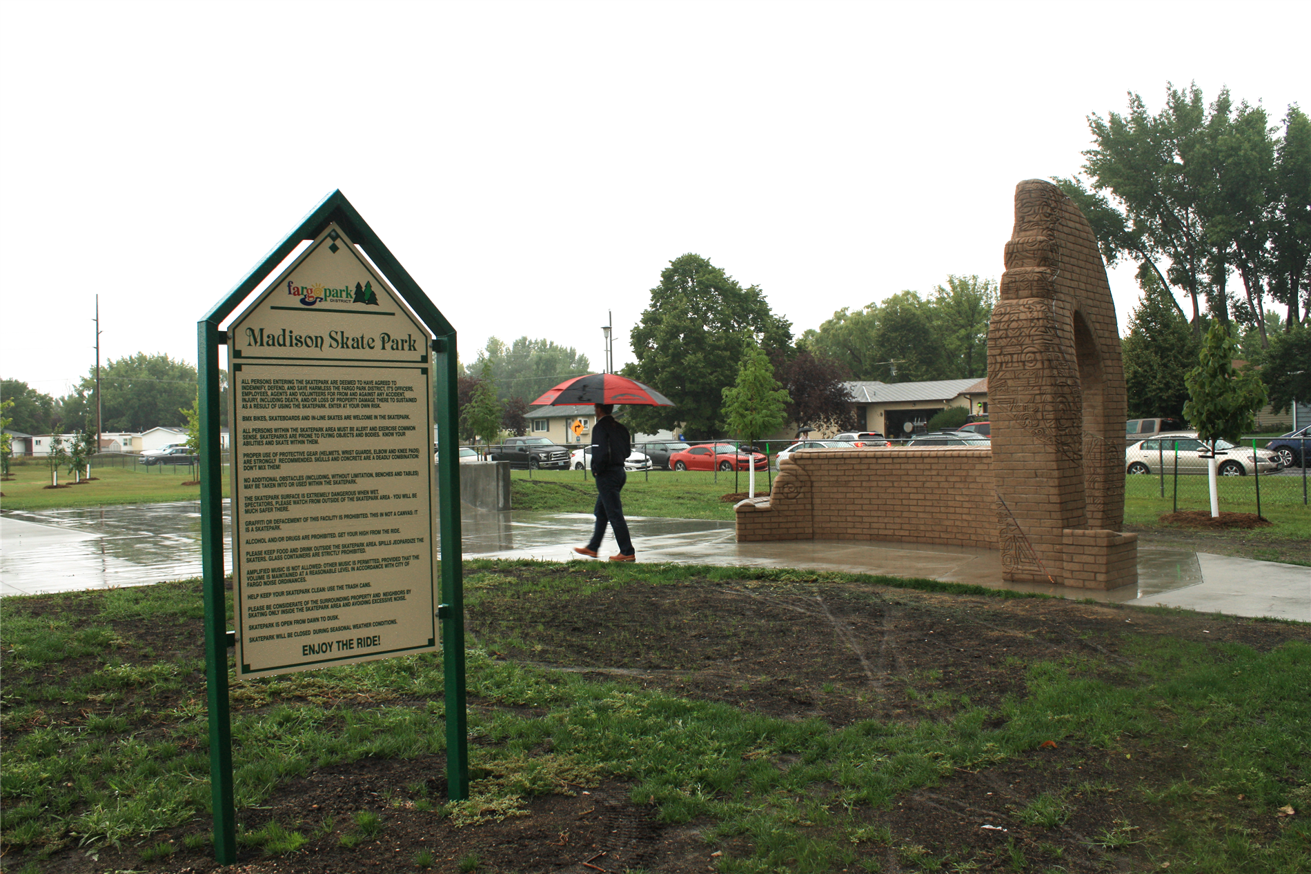 Madison Park Dedication