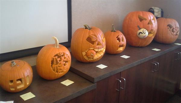 United Way Campaign Pumpkin Carving Contest