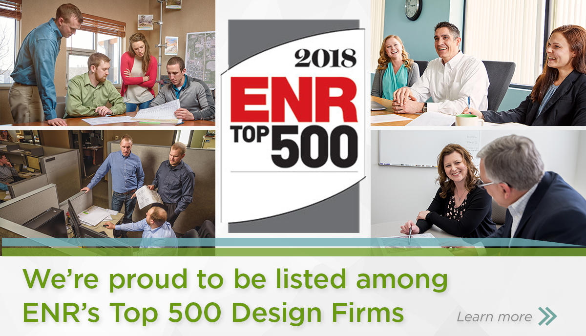 HEI selected among 2018 ENR Top 500 Firms