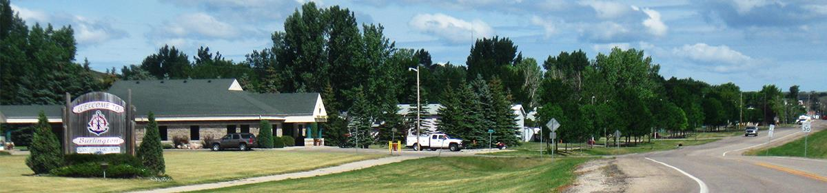 This photo shows the entrance to Burlington, a city for which HEI completed a strategic plan