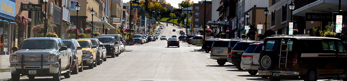 Minot Downtown Infrastructure Improvements