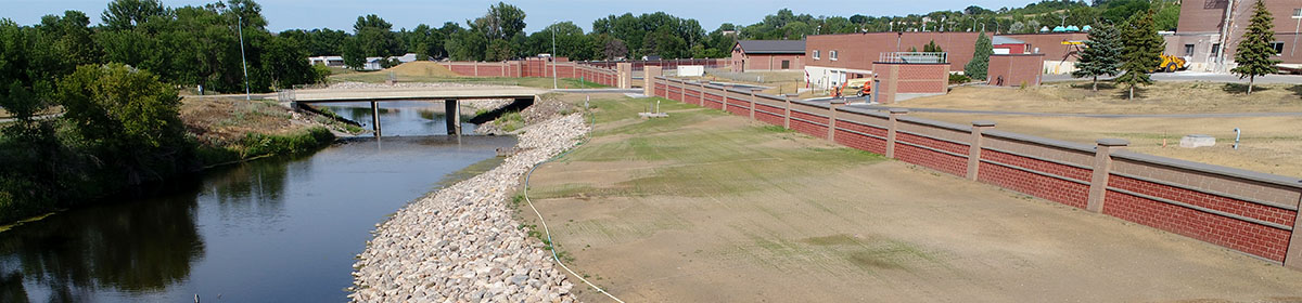 Minot Water Treatment Plant Flood Protection