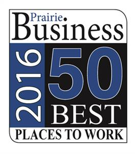 Prairie Business Magazine 50 Best Places to Work