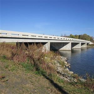 Lake Shure Bridge Replacement Project Receives ACEC/ND Engineering Excellence Award