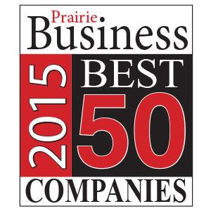 HEI Makes Prairie Business magazine's 2015 50 Best Places to Work List