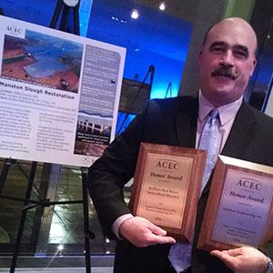 Manston Slough Restoration Project Wins ACEC/MN Engineering Excellence Honor Award