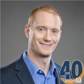 Greg Thompson Recognized on 40 Under 40 List