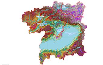 Lake Minnewaska Terrain Analysis