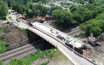 2nd Street (CSAH 7) Railroad Bridge Replacement