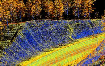 Mobile and Drone-based LiDAR Survey Collection for SDDOT