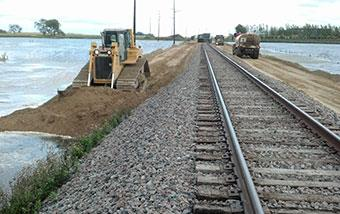 BNSF Track Raise and Embankment Widening