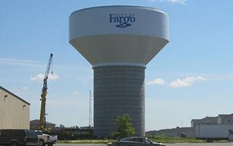 Fargo Water Tower