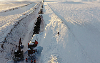 BNSF Winter Drone Flights