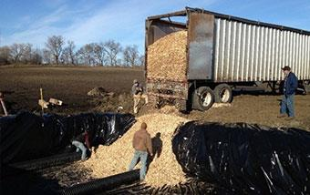 Lilleberg Farm Woodchip Bioreactor Design and Construction